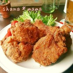My Favorite Food, Favorite Recipes, Daily Meals, Fried Chicken, Japanese Food, No Cook Meals, Cake Recipes, Fries, Food And Drink