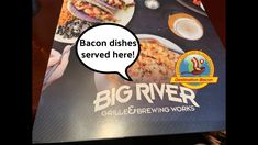 All kinds of bacon goodies at Big River Grille & Brewing Works in Chattanooga, TN. So if you find yourself downtown at the aquarium or river park - head on o. Bacon Videos, Bacon Dishes, River Park, Some Fun, Brewing, Aquarium, It Works, Finding Yourself, Good Food