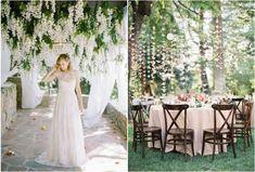 Jardines colgantes en la decoración de tu boda