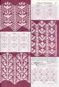motivi crochet floreali