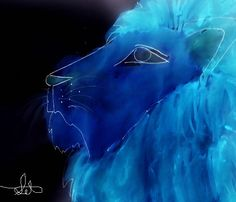 Wise Lion of The Stars by TheMoonAndSun.deviantart.com