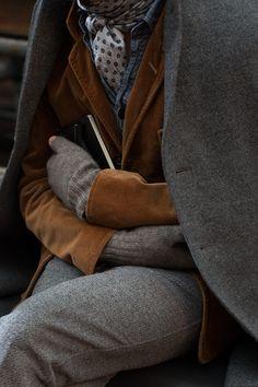 dreaming of velvet, wool & tweed.