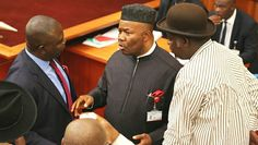 Drama as Senators and Reps Exchange Blows In Ex Gov. Akpabio's House Ahead Of PDP Convention