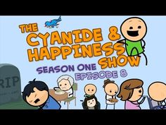 The Depressing Episode - S1E8 - Cyanide & Happiness Show - I seriously am crying, I teared up through it all, but for some reason the last one got me. Cancer man...The one about the son coming home and his dad committing suicide got me on a personal level. It was too short for me to cry though. Anyways there are some humor mixed in so it's so worth watching.