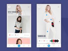 Design for mobile app. Ui Kit, Shop Interior Design, Store Design, Hippie Lifestyle, Simple App, Mobile Ui Design, Photoshop, User Interface Design, Best Apps
