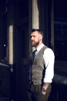Murdock Covent Garden Sales Assistant Kial Pound was no.93 on 100Beards100Days tumblr.