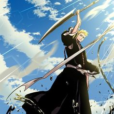 Ichigo Manga, Ichigo Y Orihime, Manga Anime, Anime Art, Bleach Fanart, Bleach Anime, Shinigami, Aesthetic Art, Aesthetic Anime
