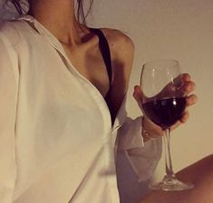 Discovered by Kat💥. Find images and videos about girl, wine and white shirt on We Heart It - the app to get lost in what you love.