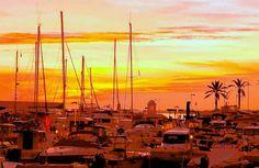 Sunrise at Puerto Banús