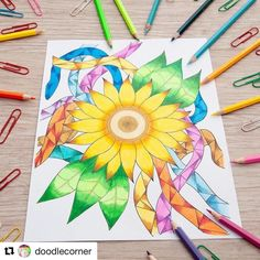 #Repost @doodlecorner with @repostapp  Hello weekend!!!! CDO happy fiesta!!! Illustration from Doodle Corner Adult Coloring Book Vol.2 Floral Mandalas . There is nothing more rare nor more beautiful than a woman being unapologetically herself; comfortable in her perfect imperfection. To me that is the true essence of beauty. Steve Maraboli Unapologetically You: Reflections on Life and the Human Experience . . . Doodle Corner Adult Coloring Book both vol. 1 and 2 are available on amazon…