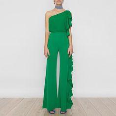 Pantalon Chiara Verde SS17
