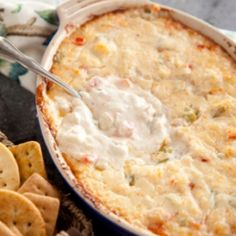 Paula Dean's cheesy shrimp dip