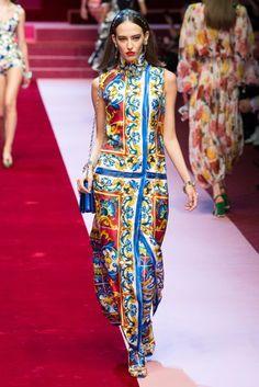 Dolce & Gabbana Spring/Summer 2018 Ready To Wear
