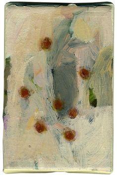 Anne-Sophie Tschiegg: les toiles de poche 10/15cm Paintings I Love, Beautiful Paintings, Original Paintings, Floral Paintings, Abstract Nature, Abstract Art, Abstract Paintings, Anne Sophie, My Art Studio
