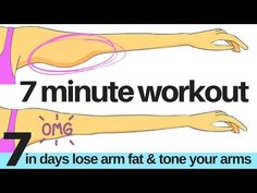 (35) 7 DAY CHALLENGE - 7 MINUTE WORKOUT TO LOSE ARM FAT & TONE YOUR ARMS - ARM EXERCISE FOR WOMEN AT HOME - YouTube