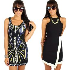 "Get the chic ""Tribal Bodycon"" and ""Millenium Dress"" both for only $26.39, PLUS an additional 20% OFF!!! Go to www.sophieandtrey.com and enter promo code: EXTRA20 and shop all sale in store at #sophieandtrey! #sale #extra20 #springcleaning"