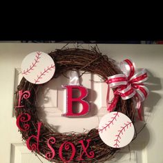 It's baseball season and time to redecorate the house! Now of course it won't be the red socks! R.E.D.S!
