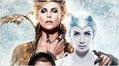'El cazador y la reina del hielo': Nuevo y glacial póster con Charlize Theron y Emily Blunt
