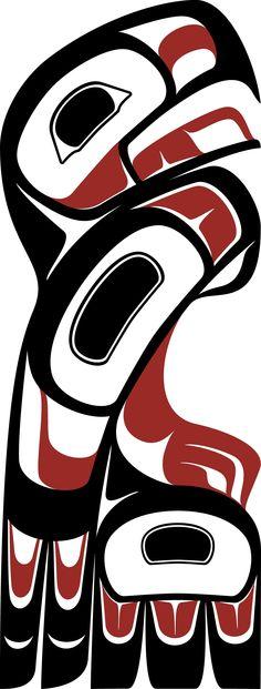 Standing Eagle by Roy Henry Vickers American Indian Art, Native American Art, American Indians, Haida Art, Tlingit, Inuit Art, Wood Burning Patterns, Indigenous Art, Aboriginal Art