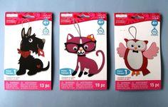 3 Foam Craft Kits DOG, KITTY CAT & OWL Valentine's Day Ornaments (Creatology) | Crafts, Kids' Crafts, Craft Kits | eBay!