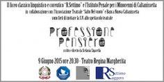 """Professione Pensiero"" , domani sera al Teatro Regina Margherita"
