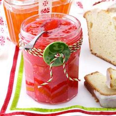 Peach Raspberry Jam Recipe....pinning to remember cute decorated jar idea for gift giving