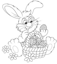 Easter bunny with Easter eggs (17) [преобразованный].png