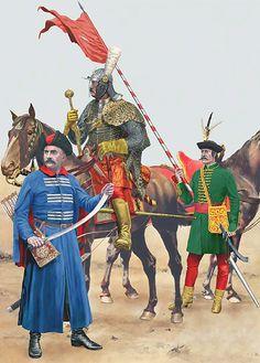 Imperial Armies - Hussars & Poles: • Polish Kozak  • Hussar officer  • Hussar lancer