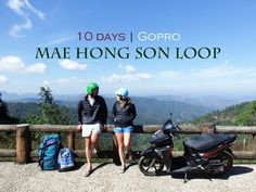 The Married Wanderers scooter the Mae Hong Son Loop in Thailand over 10 days with their GoPro. Watch the best of Chiang Mai, Chiang Dao, Mae Taeng, Pai and S. Travel Vlog, Budget Travel, Travel Tips, Chaing Mai, Northern Thailand, Travel Couple, Thailand Travel, Gopro, Motorbikes