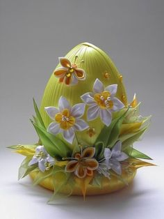 1 million+ Stunning Free Images to Use Anywhere Easter Egg Crafts, Easter Projects, Easter Eggs, Easter Flower Arrangements, Easter Flowers, Easter Centerpiece, Ribbon Art, Ribbon Crafts, Spring Crafts