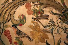 Sulla seta trionfa la natura - Museo del ricamo - Pistoia, Italia