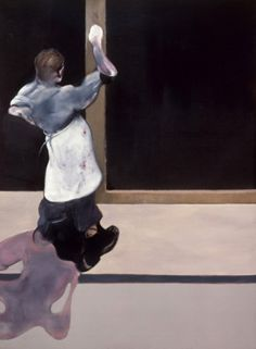 'Triptych (left section)' by Francis Bacon (1974)