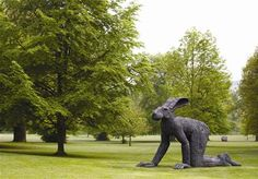 Yorkshire Sculpture Park Crawling 1999 Sophie Ryder