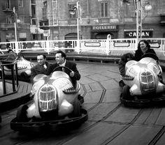 LE GIOSTRE A MILANO - ANNI 50  #carousel