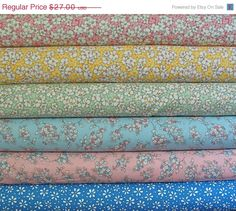 ON SALE Kaufman Mother's Melodies HALF Yard by NauvooQuiltCo