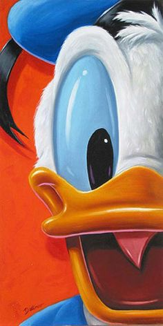 Disney Fine Art - Facing Donald. Biggs Ltd. Gallery. Heirloom quality bridal, art, baby gifts and home decor. 1-800-362-0677. $495.