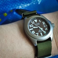 Citizen APO Tough Watch (aka Ray Mears) Rugged Watches, Watches For Men, Black Opal, Watch Brands, Citizen, Club, Casual, Clocks, Tag Watches