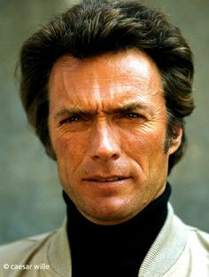 """Zürich 1974. Clint Eastwood in the movie """"The Eiger Sanction"""". Great to work with him. Photo by Caesar Wille."""