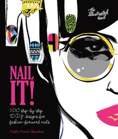 """theillustratednail:  I'm so excited to announce that my first nail art book """"NAIL IT!"""" with @CarltonBooks is now available to buy!There are over 100 step-by-step nail art tutorials alongside hand and nail care advice as well as tips and tricks for both beginners and professional nail artists alike.You can preorder now over on Amazon!There will be competitions coming soon to get yourchance on free copies and special giveaways so keep your eyes peeled!Check out the lovely review of NAIL IT…"""