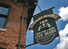 Slippery Noodle Inn, Indianapolis - live music was awesome and food was great too.