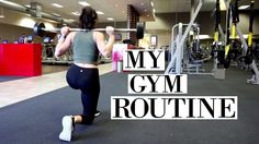 MY GYM ROUTINE | Quad workout for lean legs