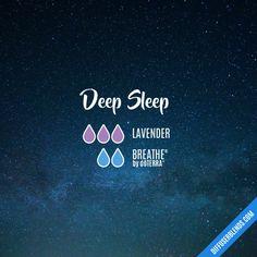 Deep Sleep - Essential Oil Diffuser Blend sub Breathe Ease by RMO Deep Sleep Essential Oils, Sleeping Essential Oil Blends, My Essential Oils, Essential Oil Diffuser Blends, Breathe, Helichrysum Essential Oil, Doterra Oils, Doterra Blends, Doterra Diffuser