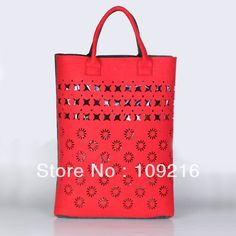 1pcs 2087 women's handbag personality cutout fashion bag the trend of felt bag casual women's handbag on AliExpress.com. 5% off $51.36