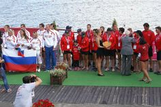 at the end of each day of racing, medal ceremonies occur where the winning team gets a chance to stand of the podium. Most rewarding feeling Dragon Boat, World Championship, Hungary, Travel Usa, Racing, Feelings, Pictures, Running, Photos