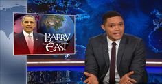 Tales From the Trump Archive - Donald Trump Can't Help but Be a Chauvinist - The Daily Show with Trevor Noah (Video Clip) Donald Trump Interview, Donald Trump Show, Visit Vietnam, Trevor Noah, The Daily Show, Comedy Central, Video Clip, Obama, Presidents