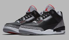 new arrival 6c234 6151a Air Jordan Restock   Sole Collector Jordan Retro 3 Og, Cement 3s, Nike Snkrs