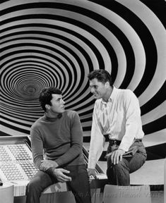 The Time Tunnel is a U. color science fiction TV series, written around a theme of time travel adventure. Photo Vintage, Vintage Tv, Nostalgia, The Time Tunnel, Science Fiction, James Darren, 60s Tv, Cinema Tv, Sci Fi Tv