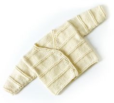 Garter Ridge Baby Cardigan in Lion Brand Cotton-Ease - 70351AD. Discover more Patterns by Lion Brand at LoveKnitting. The world's largest range of knitting supplies - we stock patterns, yarn, needles and books from all of your favourite brands.