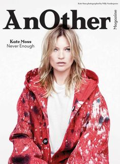 Kate Moss by Willy Vanderperre for Another Magazine Fall Winter 2014-2015