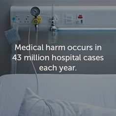 All patients should be able to rely on safe and high-quality care when they're in a hospital. Read why that's not always the case. http://www.everydayhealth.com/healthy-living/0919/medical-harm-occurs-in-nearly-43-million-hospital-cases-worldwide-each-year.aspx